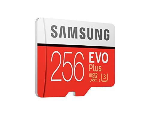Samsung 256GB EVO Plus Class 10 UHS-I microSDXC U3 with Adapter (MB-MC256GA)