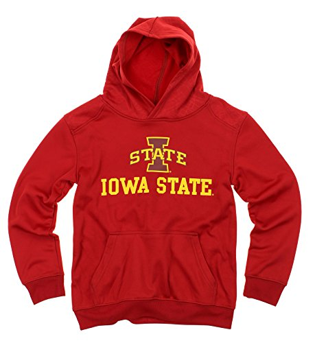 OuterStuff NCAA Big Boys Youth Performance Hoodie (8-18), Iowa State Cyclones