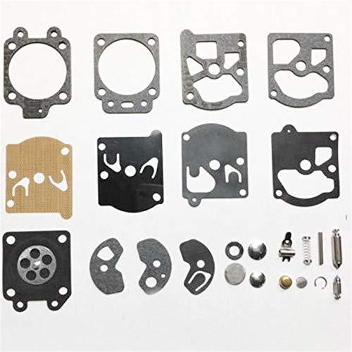 FMSBSC Kit de reparación de carburador Reparación de Herramientas de reparación Compatible con Motosierra de diafragma K10-WAT