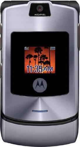 Motorola RAZR V3i - Teléfono Móvil Libre - Plata