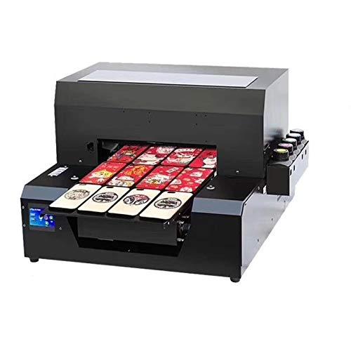 Impresora automática de inyección de tinta UV LED, A3 DIY plana impresora digital para una...