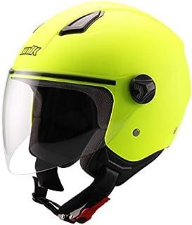 Amazon.es: casco de moto jet amarillo: Coche y moto