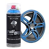 Spray Full Dip Color Sólido Vinilo Líquido 400 mL - Azul Luminoso