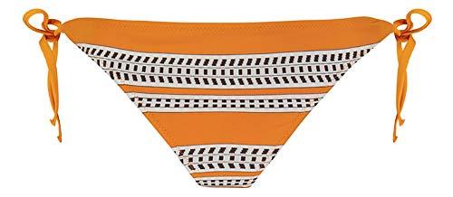 LEMLEM Amira String Bikini Bottom Orange