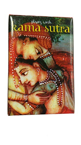 Purpledip Rare Collection Playing Cards 'Kamasutra': Collectible Souvenir Gift for Adults (10263d)