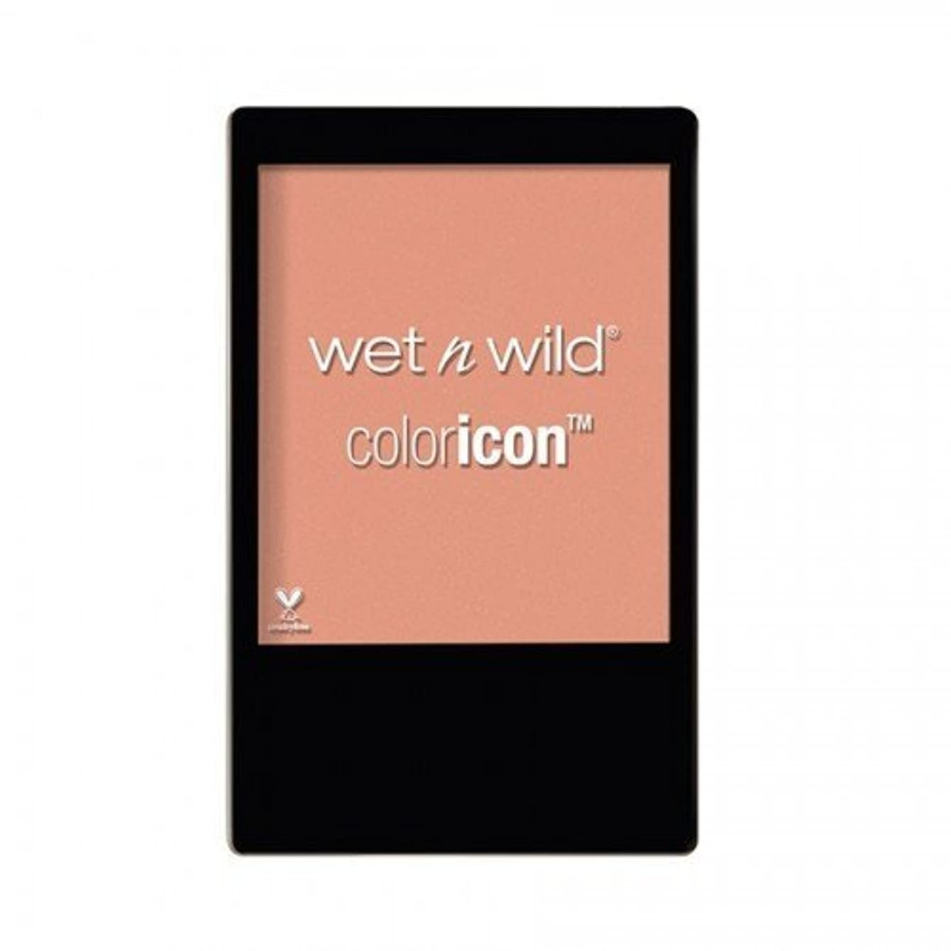 掃く贈り物資産WET N WILD Color Icon Blush (New) - Rose Champagne (並行輸入品)