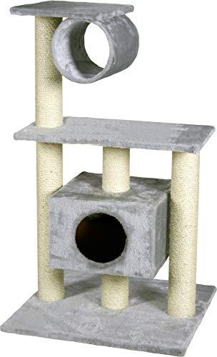 FLAMINGO Grattoir Teide pour Chat Gris 60 x 57 x 103 cm