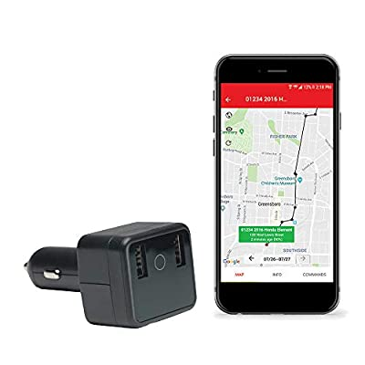 GPS Car Charger Tracker-USB Charger and Tracker with Live Audio