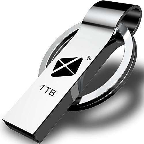 USB Flash Drive 1TB - Thumb Drive, High Speed USB Drive, Portable Ultra Large Storage USB Memory Stick, Jump Drive Pen Drive Come with Keychain