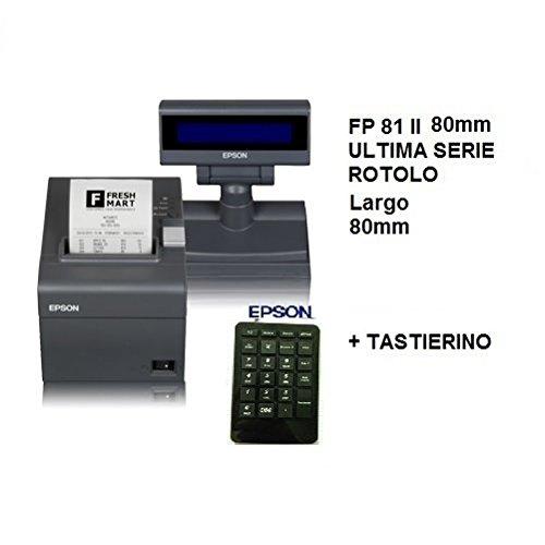 EPSON STAMPANTE FISCALE FP 81 II 80mm DISPLAY E TASTIERINO