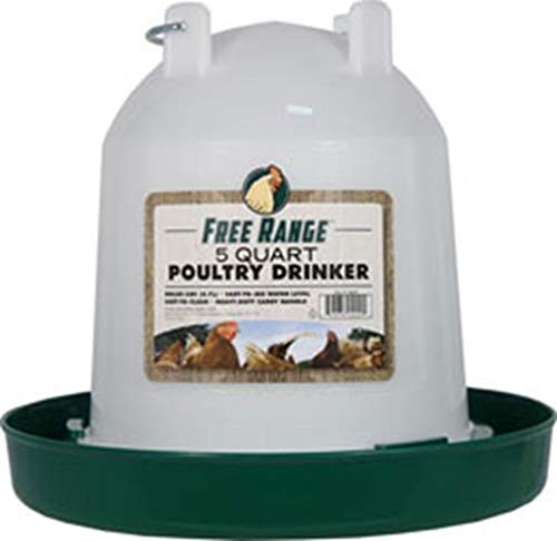 Harris Farms Plastic Poultry Drinker, 5 Quart