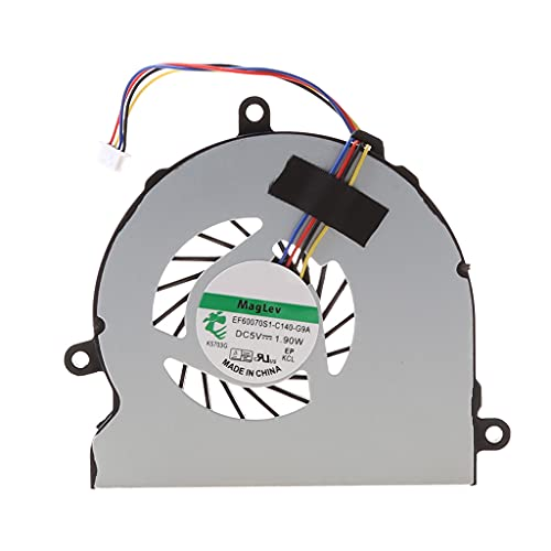 siwetg Laptop Cooler CPU Cooling Fan para HP 15-AC Series DC28000GAR0 SPS-813946-001