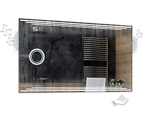 Alasta® | Lichtspiegel mit LED Beleuchtung | Größe wählen | Make-up Spiegel zu Wähle | Wandspiegel Badezimmerspiegel Spiegel LED Badspiegel Spiegelwand | Birma