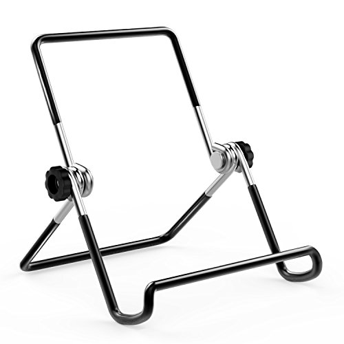 MoKo Foldable Tablet Stand, Universal Adjustable Portable Metal Holder Cradle for 7-8