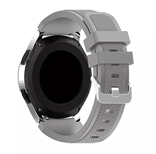 Junior one grocery 22 mm 20 mm Correa de Silicona para Galaxy Watch 46 mm 42 mm Correa Deportiva para Samsung Gear S3 Frontier/Classic Active 2 Huawei Watch 2 Colores 10, para Huawei GT 2 42 mm