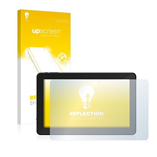 upscreen Entspiegelungs-Schutzfolie kompatibel mit TrekStor SurfTab xintron i 10.1 3G – Anti-Reflex Bildschirmschutz-Folie Matt