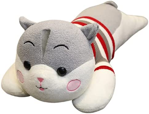 5% OFF Cute Lovely Hamster with Cloth Pillow Toy Soft Gray 70cm Recommended