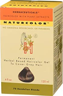Naturcolor 7D Dandelion Blonde Hair Dyes, 4 Ounce