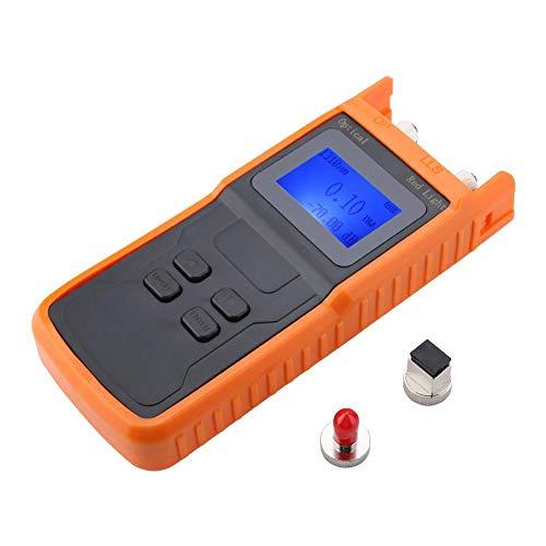 Optisches Leistungsmessgerät SML-OPS6 Digitales LCD Glasfaser Messgerät Optische Fehlersuche Optisches Leistungsmessgerät