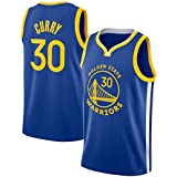 Camisetas De Baloncesto Para Hombre, Golden State Warriors Stephen Curry 30# Camisetas Ropa De Baloncesto Tela Fresca Y Transpirable Swingman Uniforme Chaleco Sin Mangas Ropa Superior