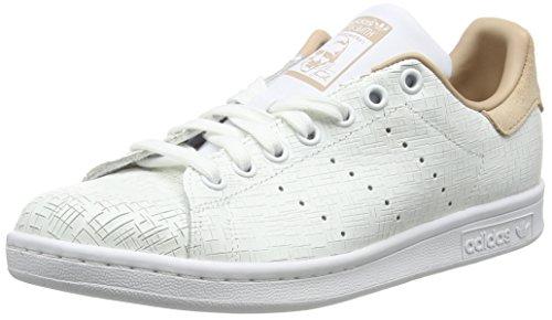 adidas Stan Smith W, Zapatillas Mujer, Blanco (Footwear White/Footwear White/Ash Pearl 0), 36 EU