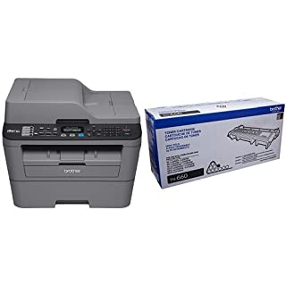 Brother MFCL2700DW Compact Laser All-In One Printer with Brother TN660 High Yield Black Toner (B00WQE301Y)   Amazon price tracker / tracking, Amazon price history charts, Amazon price watches, Amazon price drop alerts