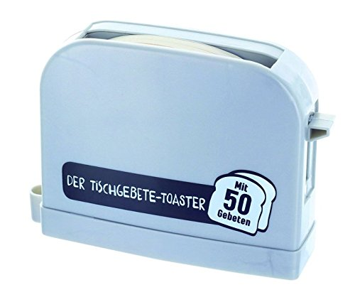 Der Tischgebete-Toaster - silbergrau: mit 50 Gebeten