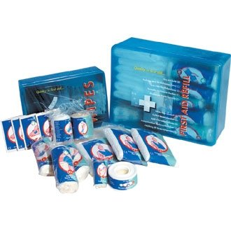 Standard HSE First Aid Refill Kit - 10 Person - be fully prepared for an incident at home or at work from