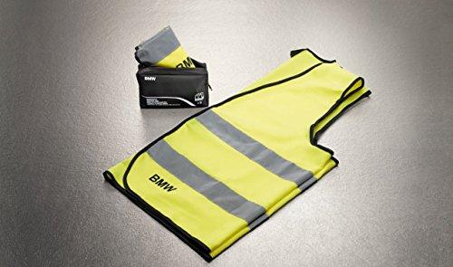BMW Reflektierende Warnweste, Gelb, 2-teiliges Set, 82262288693