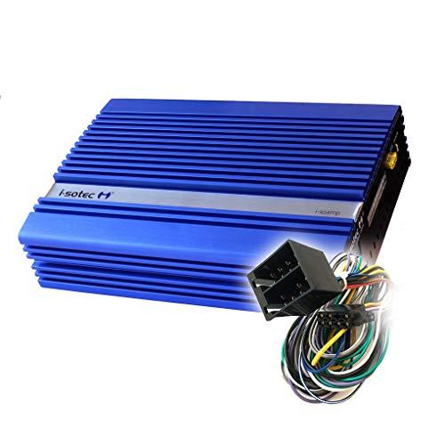 I-SOTEC ISO-5D Digital Auto/KFZ Plug & Play Upgrade Verstärker/Endstufe kompatibel für Skoda