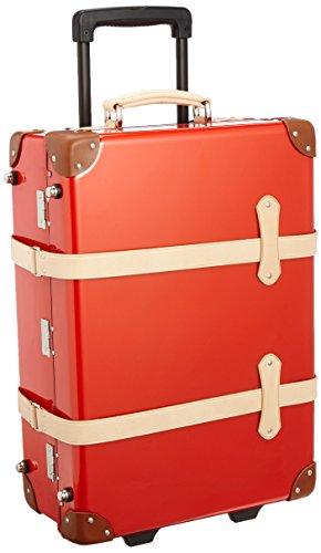 [クルーニ] スーツケース トランクキャリー 51cm 30L 3.8kg 日本製 ステッカー付 55 cm CY30003LB レッドコラル