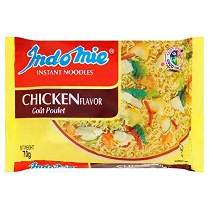 Nigerian Indomie Chicken Flavor Instant Noodles 70g (20 Packs)