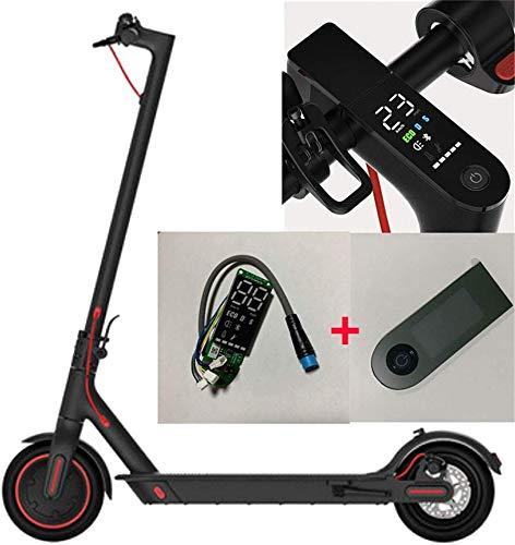 Theoutlettablet® LCD Tablero de Instrumentos Scooter eléctrico Xiaomi M365 Pro Reajustar Bluetooth Actualizar la Placa de Circuito con Cubierta de Pantalla Reemplazo de Instrumentos