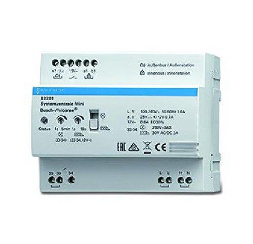 Busch-Jaeger Systemzentrale REG 83301 Netzgerät für Türkommunikation 4011395217313