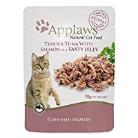 Human grade shredded tuna. High meat content, rich in natural taurine, promotes the development of lean muscle tissue. Additive and preservative free complementary cat food with no added sugar, promoting a healthy weight. Natural source of taurine es...