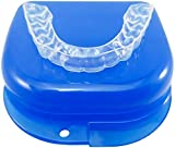 Custom Dental Night Guard, Sleep Mouth Guard for Teeth Grinding, Clenching Bruxism & TMJ Relief - Upper or Lower Custom Bite Guard