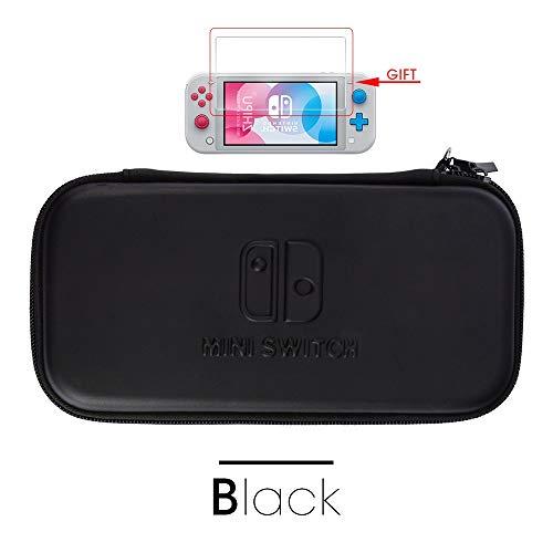 WXX QQBH For Nueva Serie de Juegos Interruptor Lite Bolsa de Almacenamiento for el Interruptor de Mini Caso Protector for Nintendo Accesorios Mini Interruptor (Color : 1pcs Black)