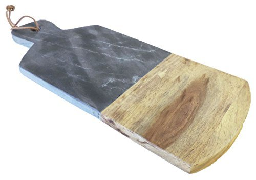 AllAsta Slate and Mango Wood Cutting Board