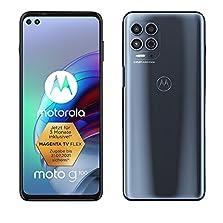 "Motorola moto g100 (6,7"" - Display, 64-MP-Kamera, 8/128 GB, 5000 mAh, Android 11) Grau, inkl. Docking-Station + TV-Now-Gutschein [Exkl. bei Amazon]©Amazon"