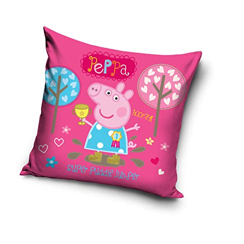 TipTrade Peppa Pig PP192005 - Cojín decorativo (40 x 40 cm)