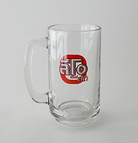ジョッキ レオ LEO タイ語 ビールジョッキ ビアレオ ビール タイ アジア グラス コップ 夏 祭り バーベキュー 屋台 縁側 パーティ 家飲み