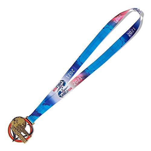 Red Bull Wings for Life World Run Medal 2021