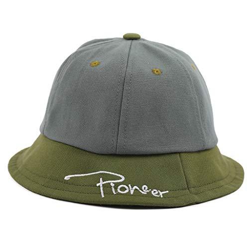 LOPILY Gorra de algodón para niños Sombrero de Punto Infantil Sombrero de ala Ancha Sombrero de Playa Casquillo al Aire Libre Elegante Sombrero de niña