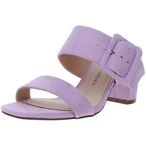 Chinese Laundry Women's Slide Heeled Sandal, Lovely Lilac, 9