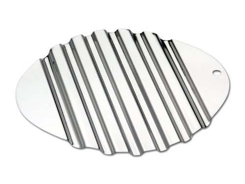 CHG Dessous-de-Plat 25x23 cm, Acier Inoxydable, Argent, 25 x 23 x 2 cm