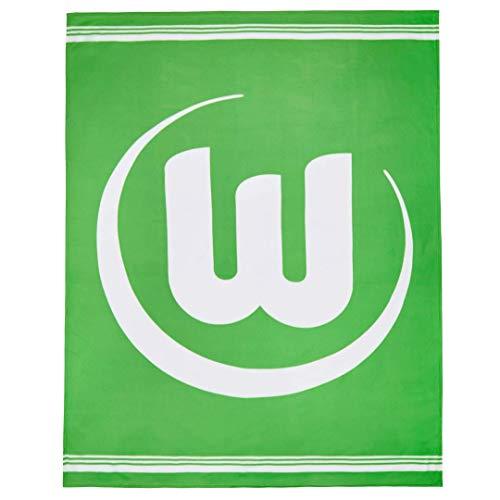 VfL Wolfsburg Fleecedecke VFL-Logo 150 x 200 cm