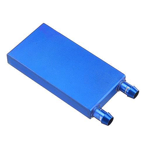 ILS – 40 x 80 0,5 mm blauw van aluminiumlegering waterkoeler koelvloeistof thermotechnicus zink
