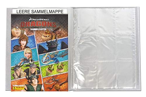 Panini - Dragons Trading Cards Serie 4 (2018) - 1 Leere Sammelmappe