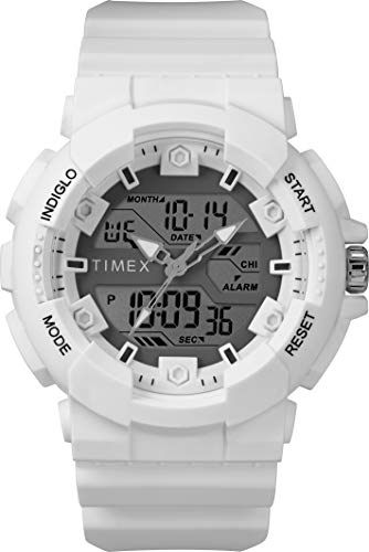 Timex Mens Digital Watch with Resin Strap TW5M22400