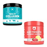 KEPPI Electrolytes and Multi Collagen Bundle - Multi Collagen Protein Powder and Electrolytes Powder